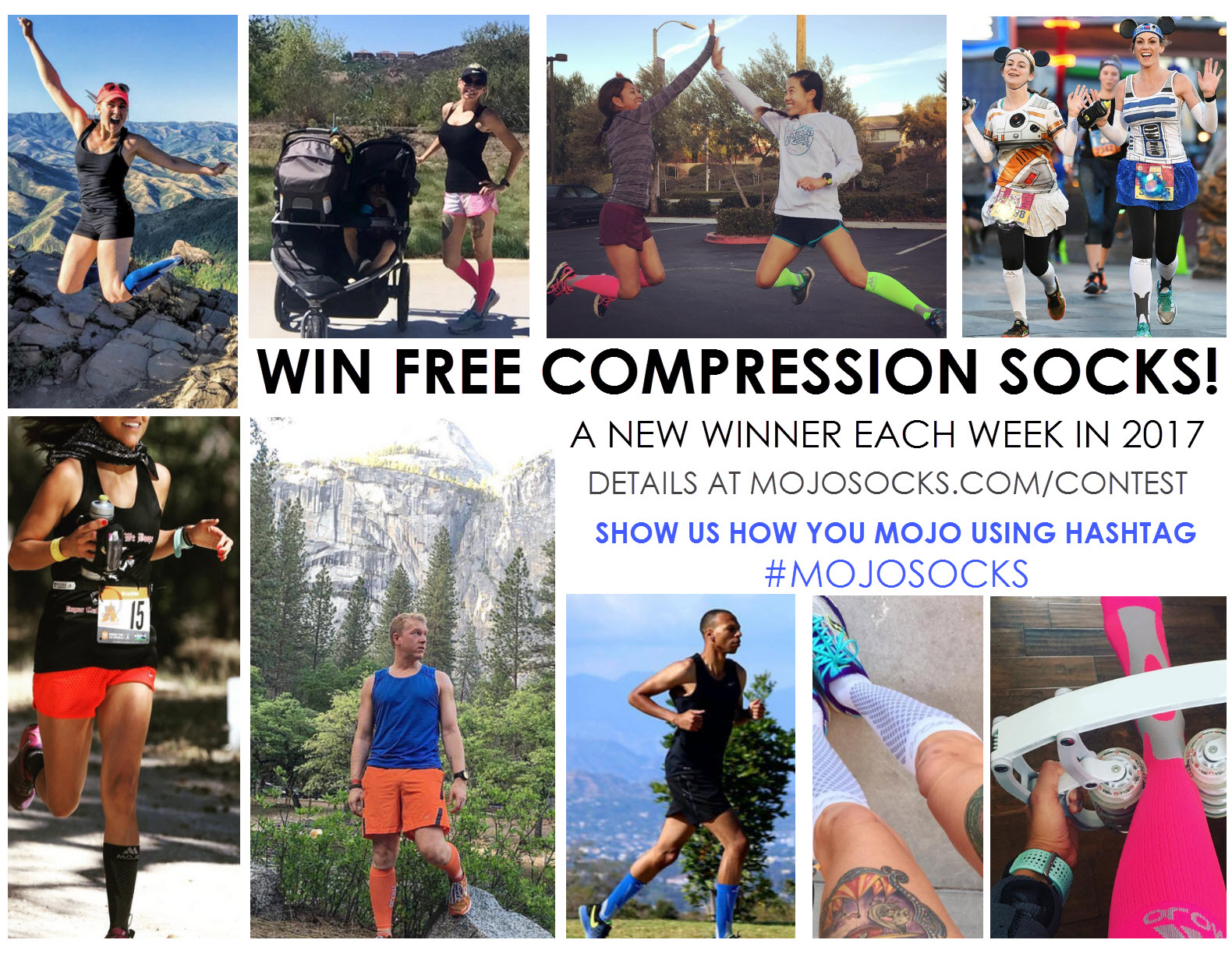 Win free compression socks!